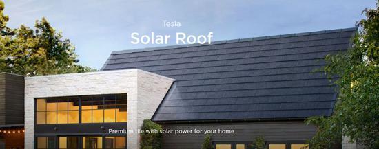 Solar Roof来源 特斯拉官网