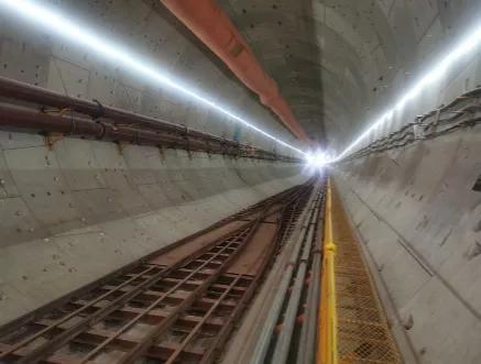 成型的隧道