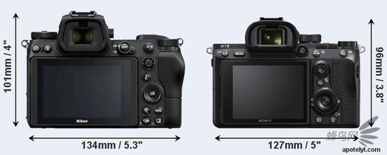 尼康Z6 VS 索尼A7M3