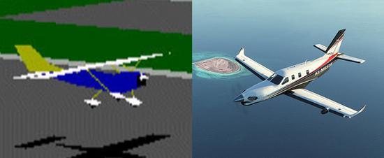 奇妙又有趣!微软模拟飞行进化简史