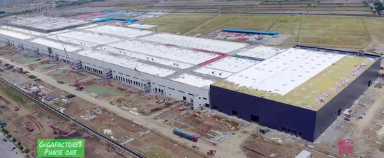 特斯拉上海工厂建设速度令人吃惊 今年第四季度开始投产?