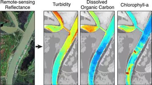 旧金山湾三角洲河口集水区水体浊度、溶解性有机碳和叶绿素的遥感光谱成像(Environ。 Sci。 Technol。,2016,50(2), pp 573–583)