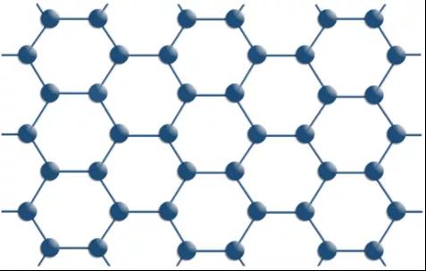 石墨烯分子结构图