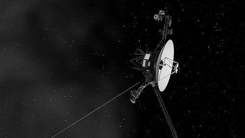 """遨游太空的""""旅行者1 号 """"图片来源:JPL Caltech/NASA"""