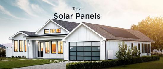 Solar Panels来源 特斯拉官网