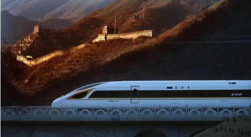 圖13:京張高鐵,圖片來源:人民日報