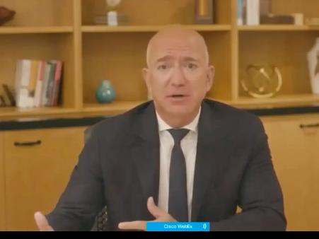 (亚马逊首席执行官 Jeff Bezos)