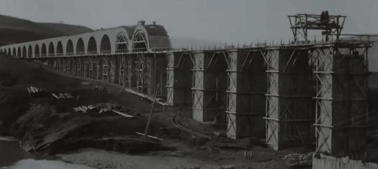 搭建水道桥的实在过程   TBS世界遗产