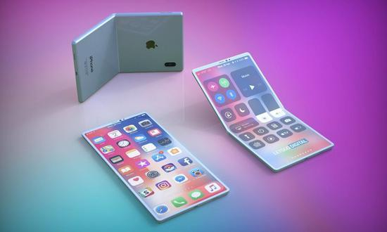 网传iPhone折叠手机