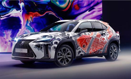 有点好看!雷克萨斯打造全球首款纹身汽车