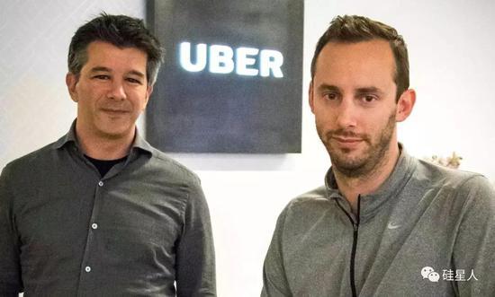 Uber前CEO和Levandowski�D:AP