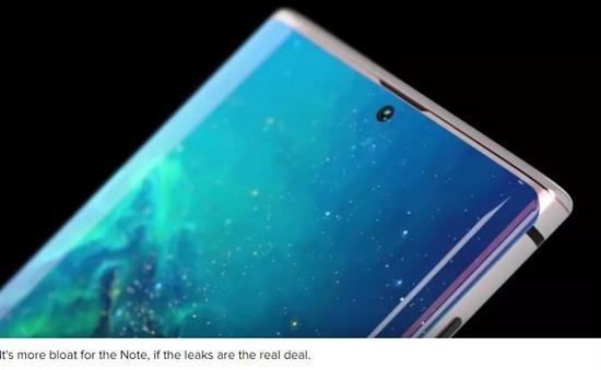 三星Galaxy Note 10细节曝光 6.66英寸+4300mAh电池