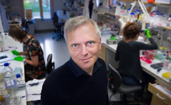 ▲领导该研究的Patrik Ernfors教授(图片来源: Karolinska Institutet)