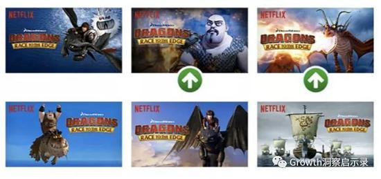 《馴龍高手:飛躍邊界》的海報方案與勝出組,來源:Netflix博客