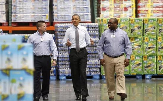 美国人都知道,奥巴马也沉迷于在Costco剁手