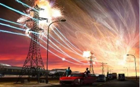 强地磁暴造成电网崩溃(图片来源:Market Business News)