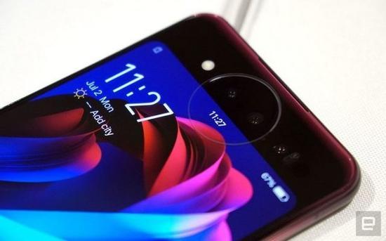 vivo NEX双屏版手机(图片:Engadget)