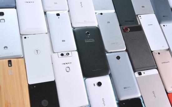 国产手机强势崛起(图片:oketekno)