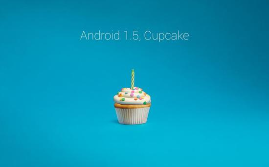 Android 1.5代号为Cupcake(纸杯蛋糕)