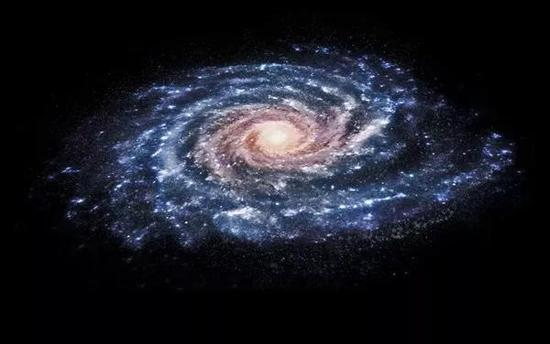 银河系(来源:谷歌图片)
