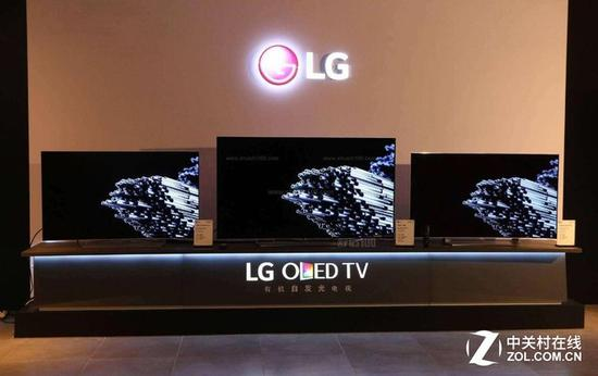 LG超大屏OLED电视