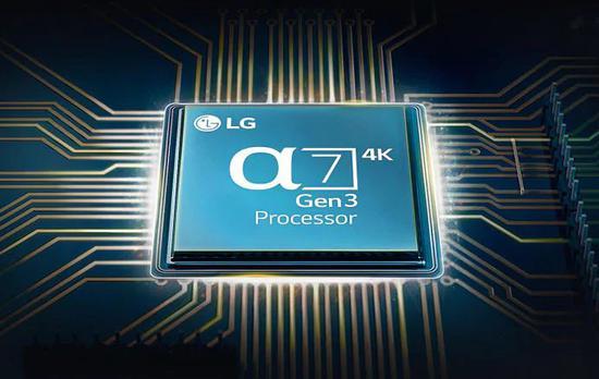 LG AI音/画芯片α7 Gen3