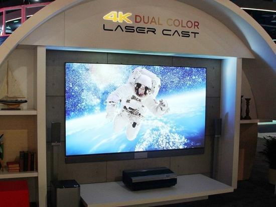 三色影院_三色4K亮相CES2018激光电视将迎变革? 激光 长虹 海信_新浪科技