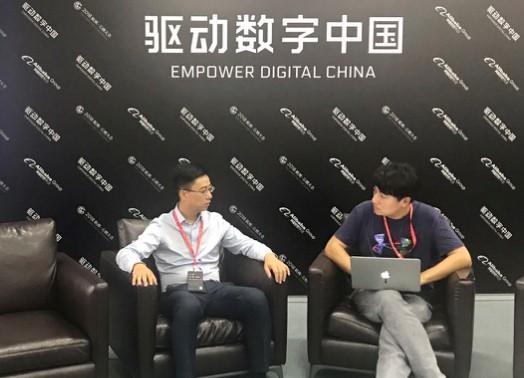 图注:两个月前,新浪科技曾专访胡晓明。