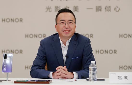 雷火电竞:荣耀总裁赵明:年底5G手机市场份额将达六成