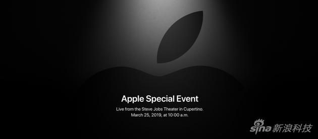 """苹果公司这次春季发布会邀请函是""""It's ShowTime"""" 一语双关的道出主题"""
