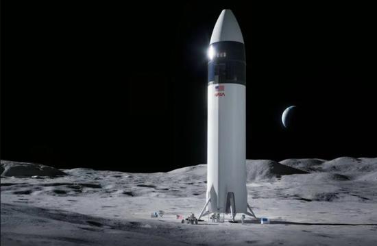 因竞争对手抗议,SpaceX的29亿美元登月着陆器合同已暂停