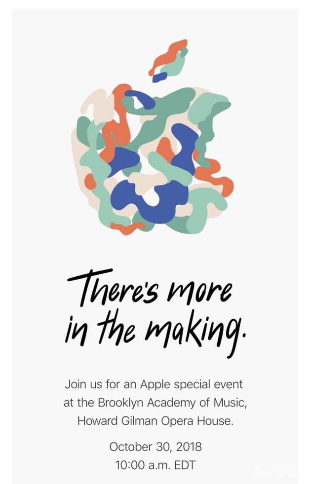 苹果正式发布邀请函 邀请函不止一张还玩出了各种花样!