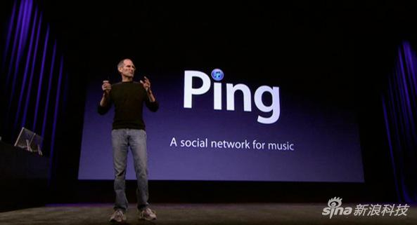He presented Ping Jobs on stage.