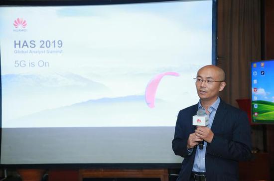 華為5G產品線副總裁甘斌