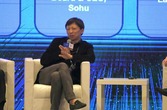 搜狐张朝阳:5G时代人们的交流方式也将产生变化