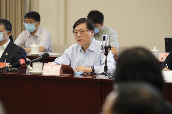 全国人大代表、 联想集团董事长兼CEO杨元庆