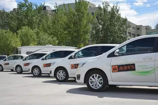 滴滴的车队是其发展充电网络的最大砝码