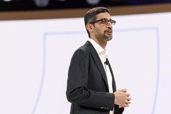Google CEO Sundar Pichai | 视觉中国