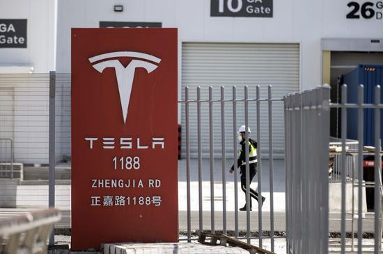 外媒:特斯拉1月在中国的新车注册量较上月大幅减少46%