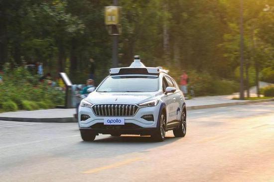 百度无人驾驶汽车 图源:网络