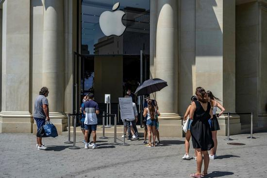巴塞罗那的苹果商店