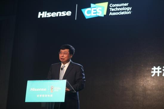 海信集团董事长周厚健