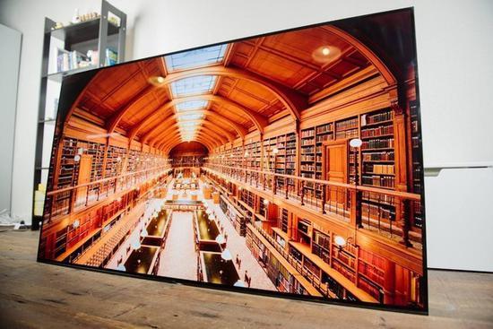 高色域电视让画面色彩过渡更加自然