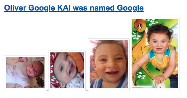 """美媒:父母给孩子起名叫""""谷歌""""是种什么样的体验?"""