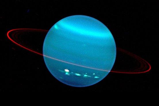 按照对天王星高层大气的钻研,科学家得出了一个让人喜形於色的结论:天王星很臭。