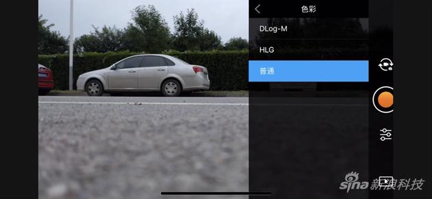 新增4K 10-bit HDR视频和10-bit Dlog-M色彩模式