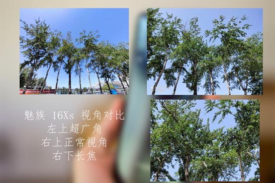 三栽拍摄模式视角对比
