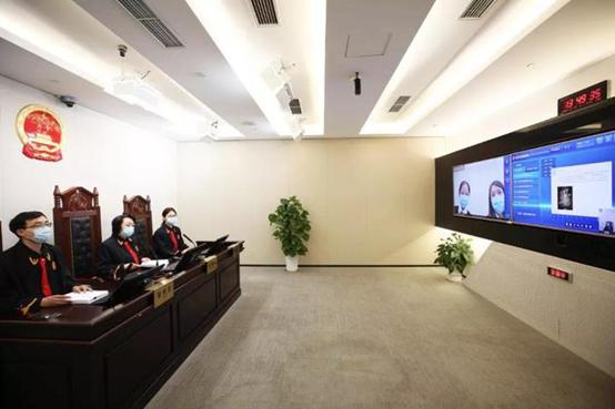 庭审现场 图源:北京互联网法院微信公众号