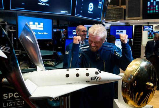 维珍银河第四季度亏损7300万美元 依然备受投资者青睐