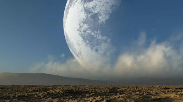 如果月球突然变得离地球更近,那么电影中出现的洪水场景可能与现实差不了多少